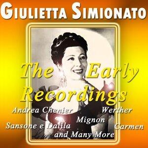 Giulietta Simionato: The Early Recordings - Andrea chenier
