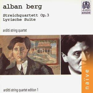 Alban Berg: Streichquartett, Op. 3 & Lyrische Suite - Viennese School, Vol. 1