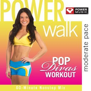 Shape Walk Pop Divas Workout - Moderate Pace (60 Minute Non-Stop Workout Mix Moderate Pace (130 BPM) )