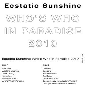Who's Who in Paradise