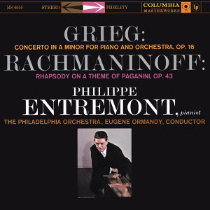Grieg: Piano Concerto in A Minor, Op. 16 & Rachmaninoff: Rhapsody on a Theme of Paganini for Piano and Orchestra, Op. 43