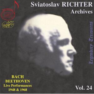 Richter Archives, Vol. 24: Bach & Beethoven (Live)