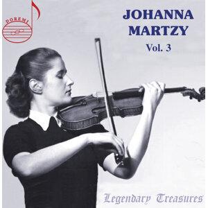 Johanna Martzy Live, Vol. 3