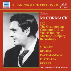 John McCormack: The Gramophone Company Ltd. & Victor Talking Machine Company Recordings