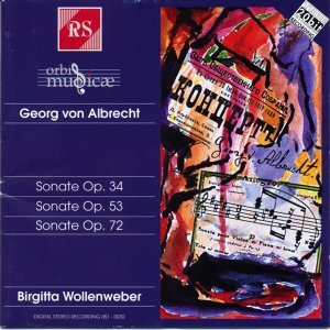 Georg von Albrecht: Piano Sonatas
