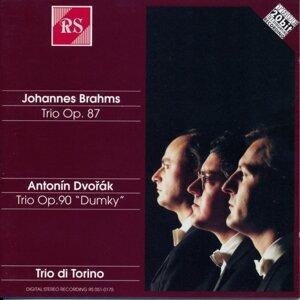 Johannes Brahms : Piano Trios, Op. 87 - Antonin Dvorak : Piano Trios, Op. 90
