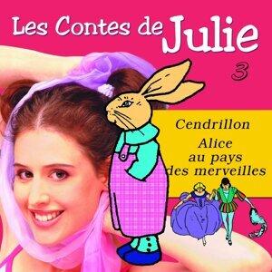 Les Contes de Julie 3 - Cendrillon & Alice au Pays des Merveilles