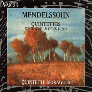 Mendelssohn: Quintettes Op. 12 No. 1 and Op. 13 No. 2 - Arr. for Wind Quintet