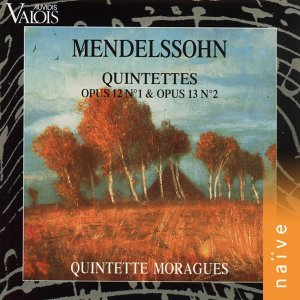 Mendelssohn: Quintettes Op. 12 No. 1 and Op. 13 No. 2 - Arr. for Wind Quintet