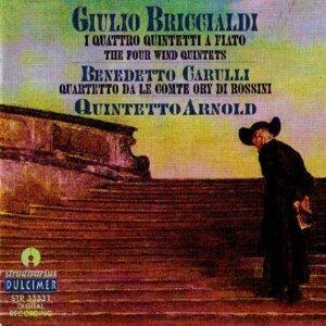 Giulio Briccialdi : I Quattro Quintetti - Benedetto Caruli : Quartetto Da Le Conte Ory Di Rossini