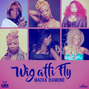 Wig Affi Fly - Single