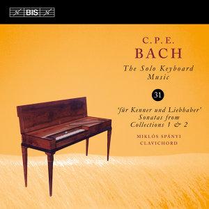 C.P.E Bach: The Solo Keyboard Music, Vol. 31