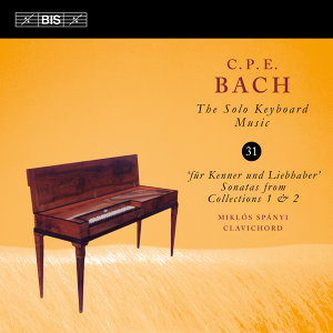 C.P.E Bach: The Solo Keyboard Music, Vol. 31