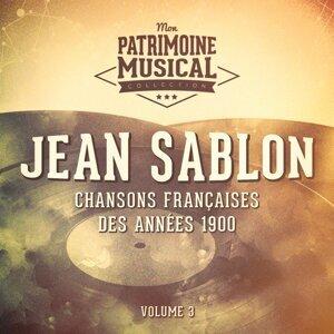 Chansons françaises des années 1900 : Jean Sablon, Vol. 3