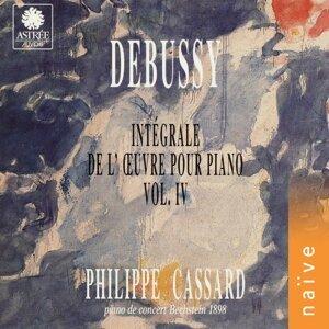 Debussy: Intégrale de l'œuvre pour piano, Vol. 4 - Piano de concert Bechstein 1898