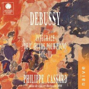 Debussy: Intégrale de l'œuvre pour piano, Vol. 3 - Piano de concert Bechstein 1898