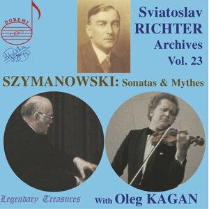 Richter Archives, Vol. 23: Szymanowski (Live)