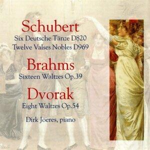 Schubert, Brahms and Dvorák: Waltzes and Deutsche Tanze