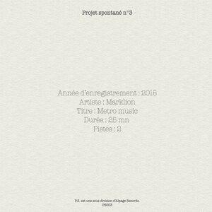 Projet spontané, vol. 3 - Metro Music
