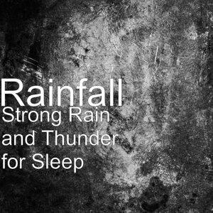 Strong Rain and Thunder for Sleep