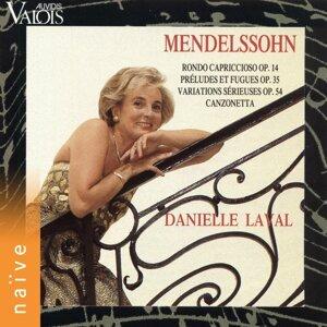 Mendelssohn: Rondo Capriccioso, Préludes et fugues, Variations sérieuses et Canzonetta