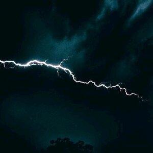 Powerful Thunderstorm and Rain