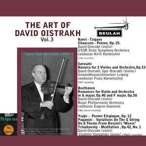 The Art of David Oistrakh, Vol. 3