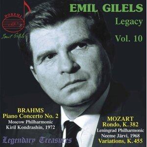 Emil Gilels Legacy, Vol. 10: Brahms Piano Concerto No. 2