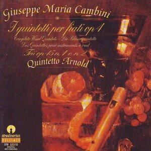 Cambini : I quintetti per fiati Op.4, Trii No.1,No.2 per Flauto Oboe e Fagotto Op.45