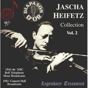 Jascha Heifetz Collection, Vol. 2 (Live)