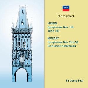 Haydn: Symphonies 100, 102, 103. Mozart: Symphonies 25 & 38; Eine kleine Nachtmusik