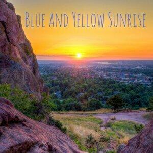 Blue and Yellow Sunrise