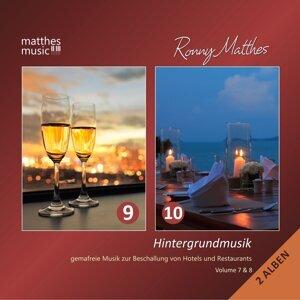 Hintergrundmusik, Vol. 9 & 10 - Gemafreie Musik zur Beschallung von Hotels & Restaurants (inkl. romantische Klaviermusik)