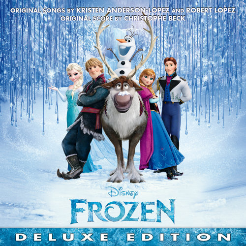 Frozen (魔雪奇緣電影原聲帶) - Original Motion Picture Soundtrack/Deluxe Edition 專輯封面