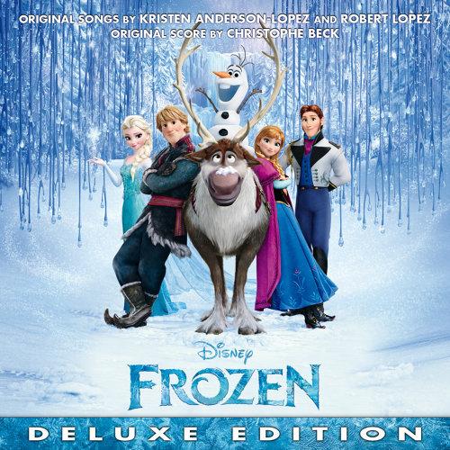 Frozen (魔雪奇緣電影原聲帶) - Original Motion Picture Soundtrack/Deluxe Edition 專輯封面
