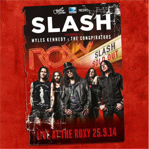 Live At The Roxy 25.09.14