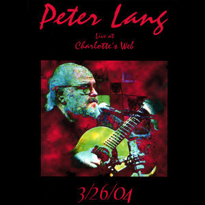 Peter Lang Live at Charlotte's WeB