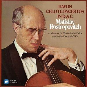 Haydn: Cello Concertos Nos 1 & 2 (羅斯托波維奇世紀典藏) - 海頓:大提琴協奏曲