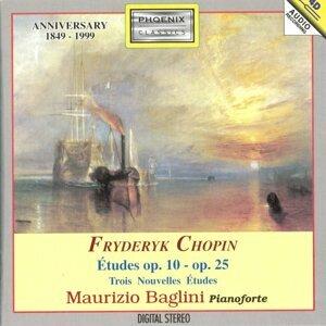 Fryderyk Chopin : Études Op. 10, Op. 25 / Trois nouvelles études