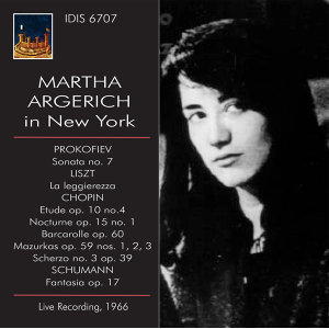 Martha Argerich in New York, 1966 (Live)