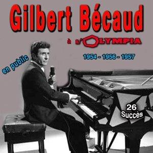 Gilbert Bécaud en public à l'Olympia -  1954-1956-1957