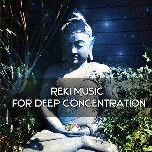 Reiki Music for Deep Concentration – Meditation Melodies, Deep Focus, Sea Waves, Peaceful Mind