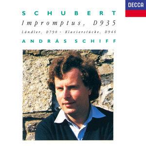 Schubert: 4 Impromptus; 3 Piano Pieces; 12 German Dances; Allegretto