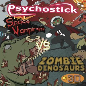 Space Vampires vs Zombie Dinosaurs in 3D