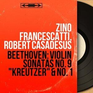 """Beethoven: Violin Sonatas No. 9 """"Kreutzer"""" & No. 1 - Mono Version"""