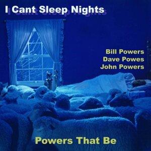 I Cant Sleep Nights