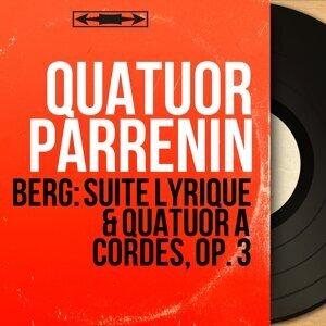 Berg: Suite lyrique & Quatuor à cordes, Op. 3 - Mono Version