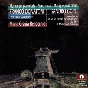 Donatoni: François Variationen - Sandro Gorli: Novellette, Studi In Forma Di Variazione, Ja Lily, Il Mulino Di Amleto