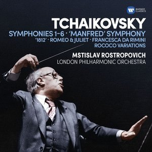 Tchaikovsky: Symphonies  Nos 1-6, Manfred Symphony, Overtures & Rococo Variations