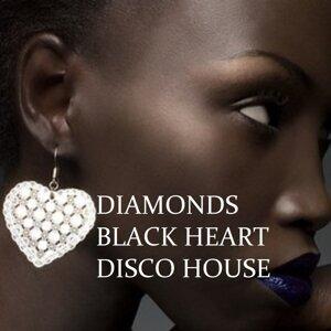 Diamonds Black Heart Disco House